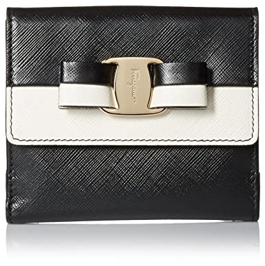 504ddebc8ad3 Amazon.com  Salvatore Ferragamo Women s Vara French Wallet