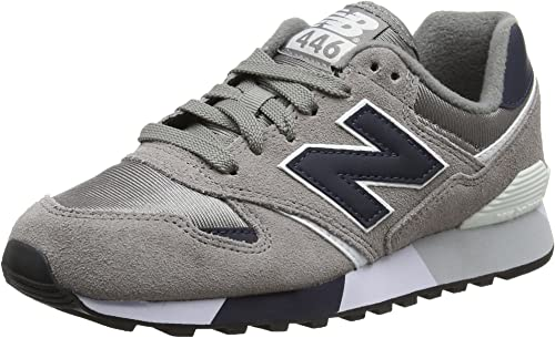 New Balance 446 80s Running, Zapatillas Unisex Adulto, Gris (Light Grey), 39.5 EU: Amazon.es: Zapatos y complementos