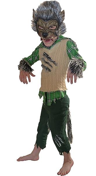 Little Babas Disfraces Traje de Halloween de Hombre Lobo ...