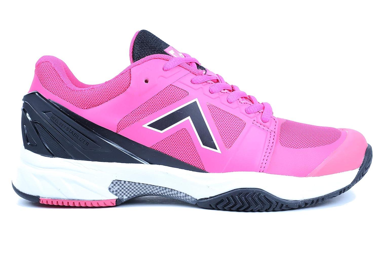 Pink Black Tyrol Women's Striker Pro Series Pickleball shoes