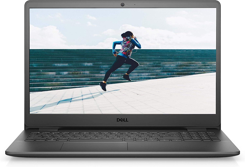 Dell Inspiron 15 3505 Full HD Laptop (FHD), 15.6 inch - AMD Ryzen 5 3450U, 12GB DDR4 RAM, 512GB SSD, AMD Radeon Vega 8 Graphics, Windows Laptop (10) - Black (Latest Model)