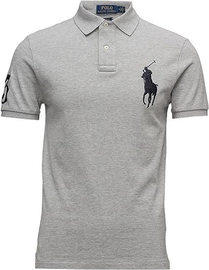 Ralph Lauren – Hombre Custom Fit Big Pony – Polo para Hombre ...