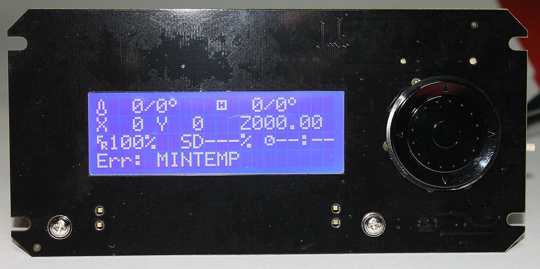Rosi LCD para RAMPAS impresora 3d lcd controlador de, Rambo, jog ...