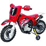 Best Ride On Cars Honda CRF250R Dirt Bike 6V Red