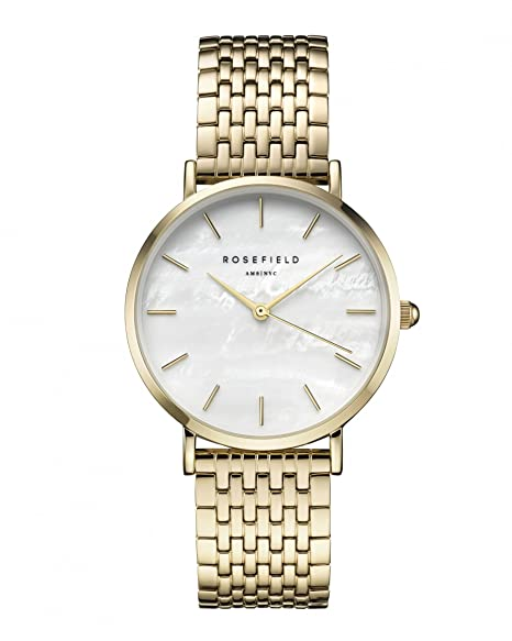 Rosefield The Upper East Side Cuarzo - Reloj (Reloj de Pulsera, Femenino, Oro