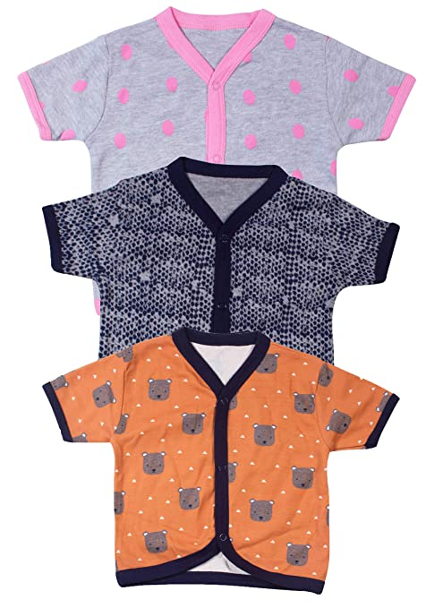 db0fd39a4 Ole Baby Half Sleeves 100% Cotton Tshirts with Cute Multi Prints for ...