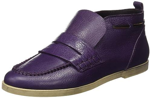 Beatriz Furest 3073, Mocasines para Mujer, Morado (Berenjena), 40 EU: Amazon.es: Zapatos y complementos