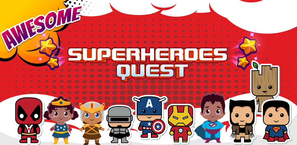 Superheroes Quest : Matching Picture Brain Game: Amazon.es ...
