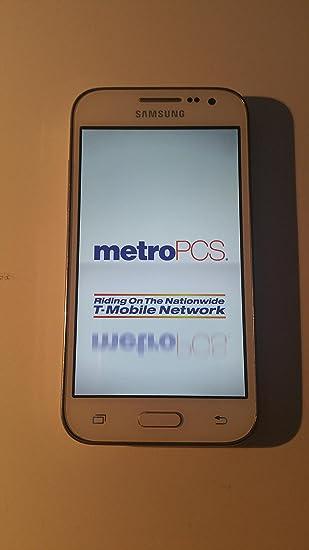 Amazon Samsung Galaxy Core Prime Sm G360t1 Metro Pcs White