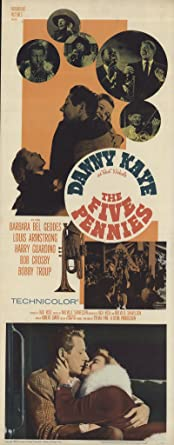 Image result for the five pennies 1959 poster