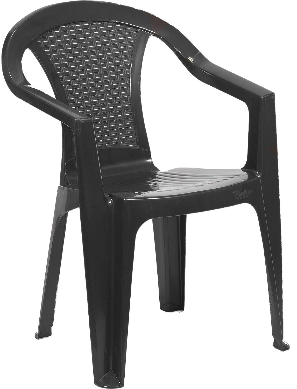 bica Pasadena Sedia Monoblocco, Plastica, Antracite 144756 sedie; impilabili