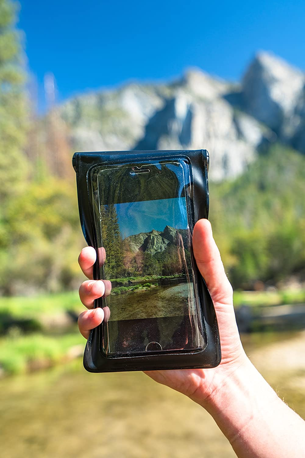 Waterproof Phone Case made our CampingForFoodies hand-selected list of 100+ Camping Stocking Stuffers For RV And Tent Campers!