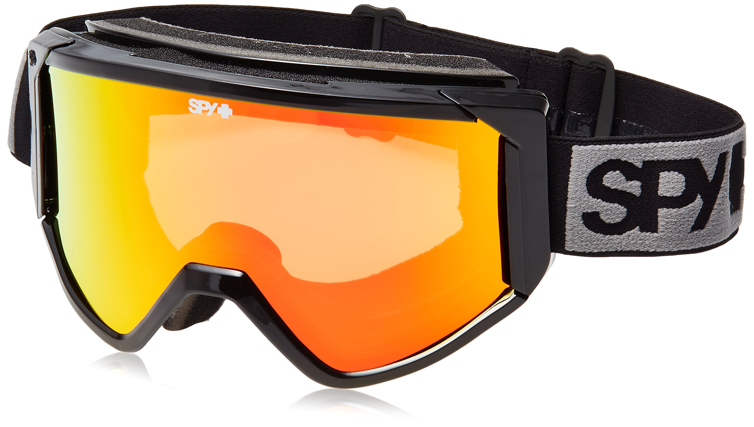 SPY RAIDER Goggles Asian Fit Black Bronze Red Spectra Ski Snowboard NEW by Spy