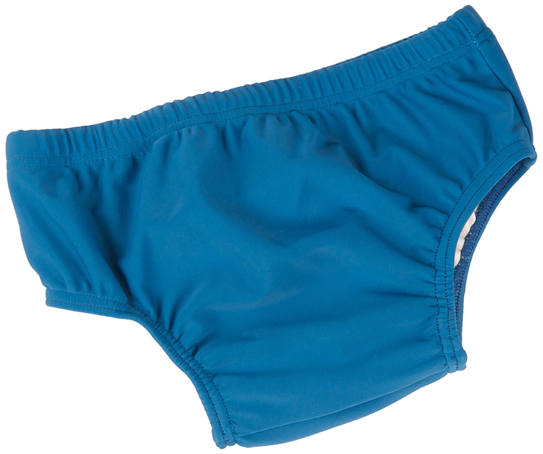 Baby Banz baby-girls Uv Swim Diaper Baby Banz UV Swim Diaper Blue Surfer 3 6 Months S11SN-BS-000