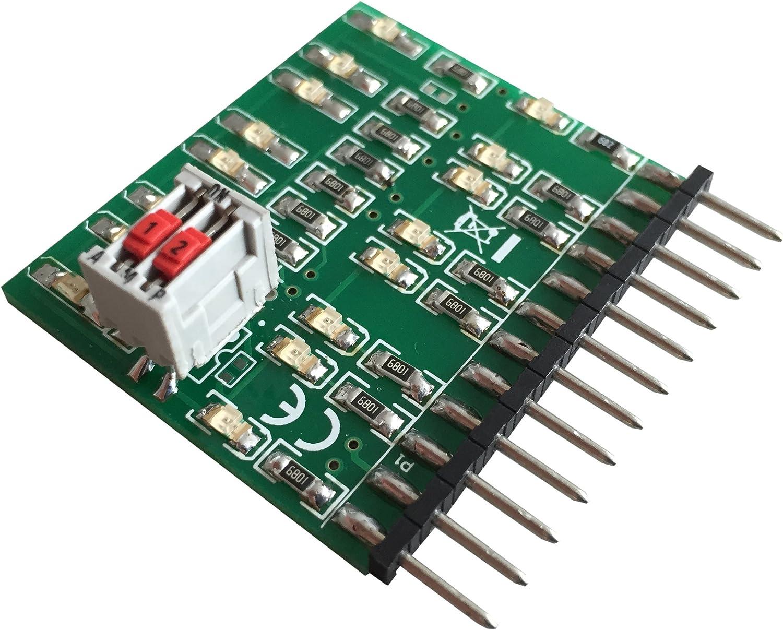 QD081 ZA3 ZA2 LED-Leiste f/ür Tests an Qdecodern der Serien Z2
