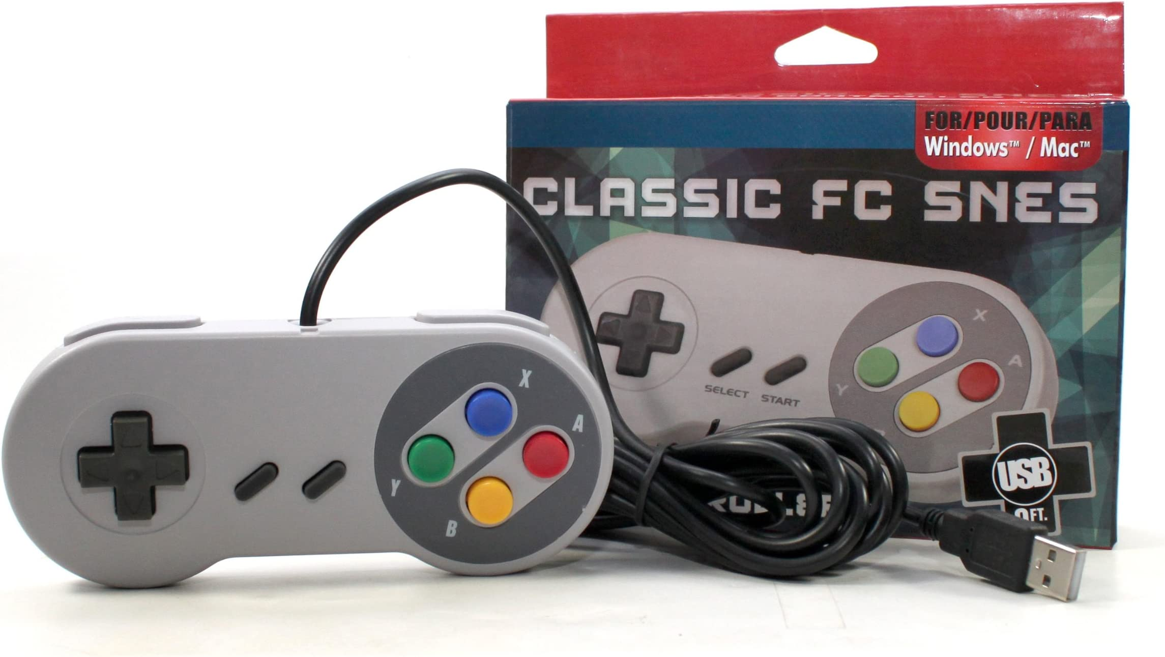 Amazon com: Gtron Retro USB Super Classic Controller For PC