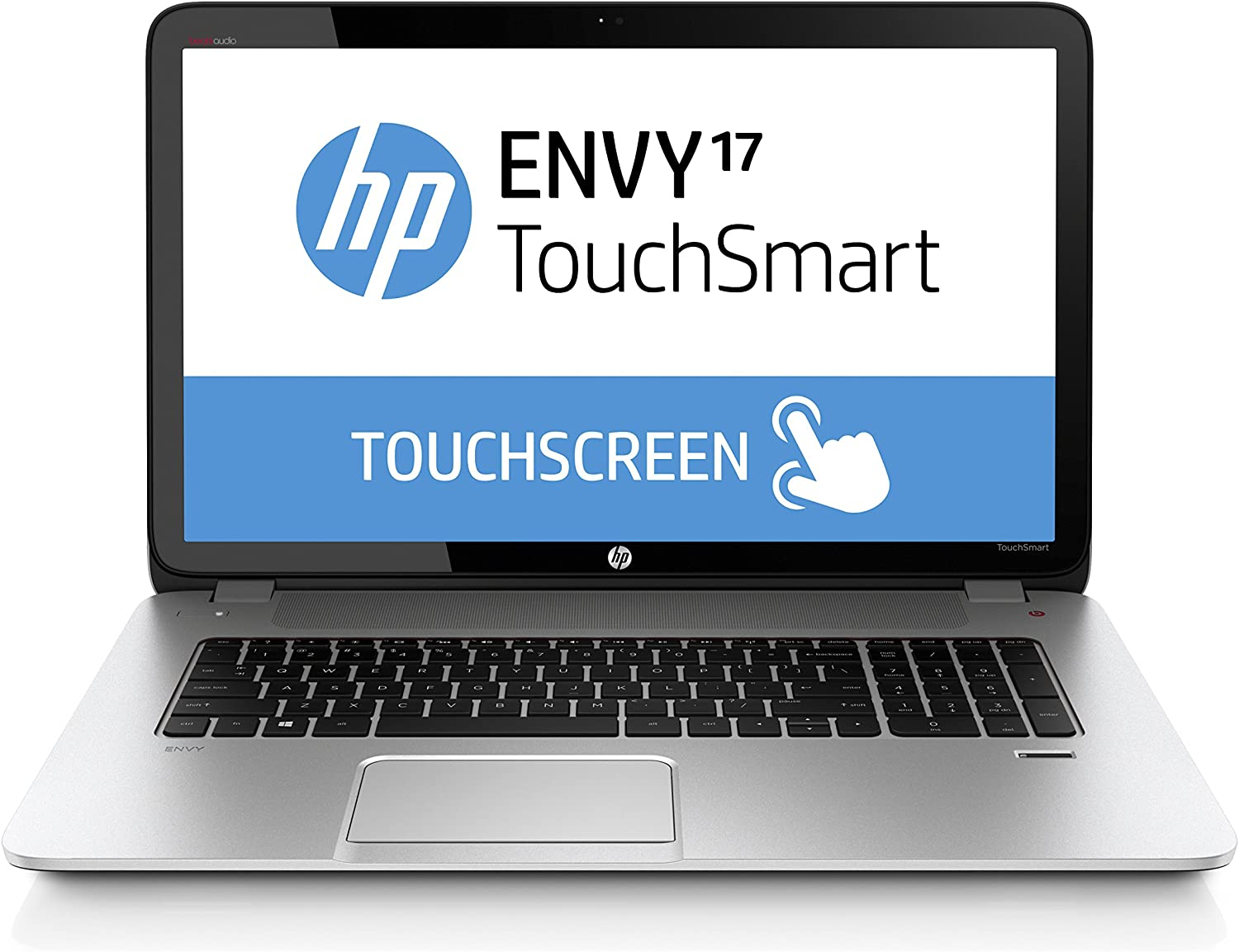 HP Envy 17.3 Inch Laptop (Intel Core i7, 12 GB, 1 TB Hybrid Drive, Silver)