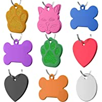 Dr. Fremont's Pet ID Tag Dog and Cat Personalized | Many Shapes and Colors to Choose From |…