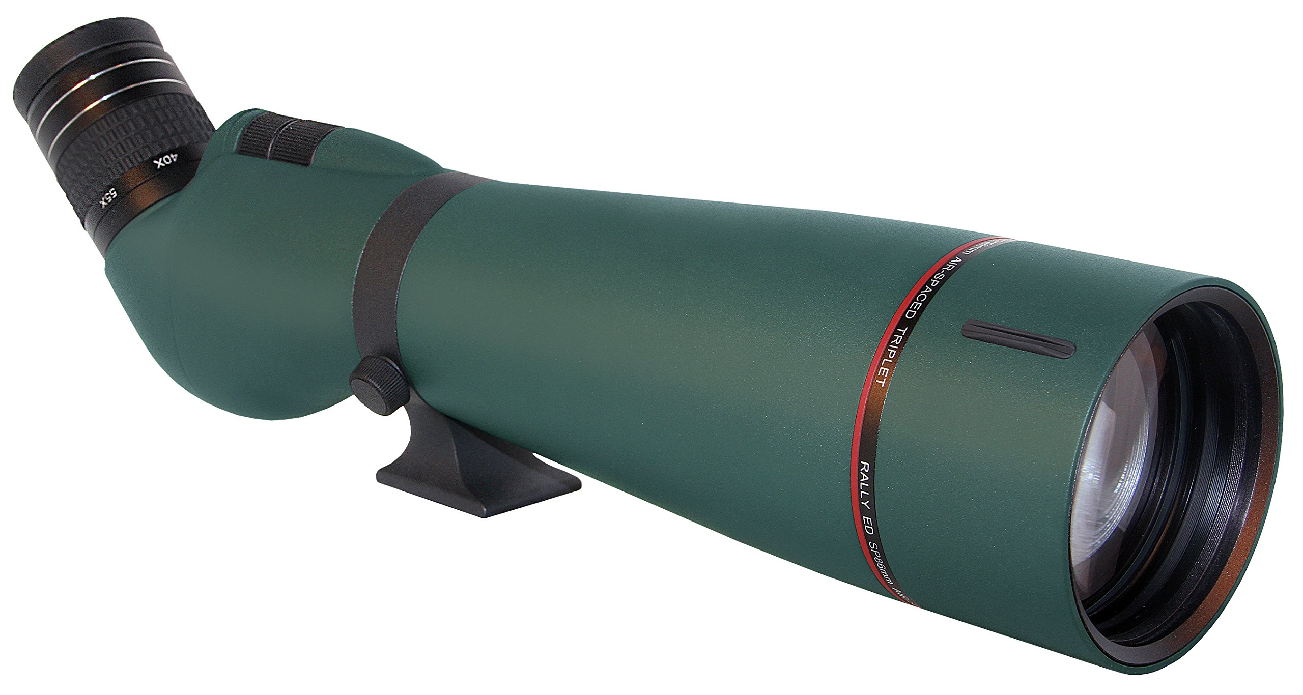 Alpen Optics RAINIER ED HD 25-75x86 w/45 degree eyepiece Waterproof Fogproof Spotting scope. (Winner of Editor's Choice as seen in Outdoor Life Magazine's Gear Test). by Alpen Optics