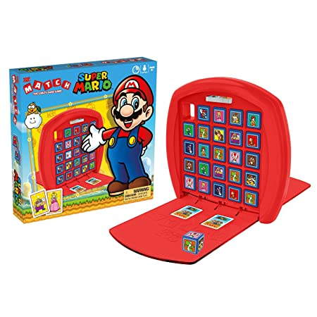 Super Mario Match - The Crazy Cube Game
