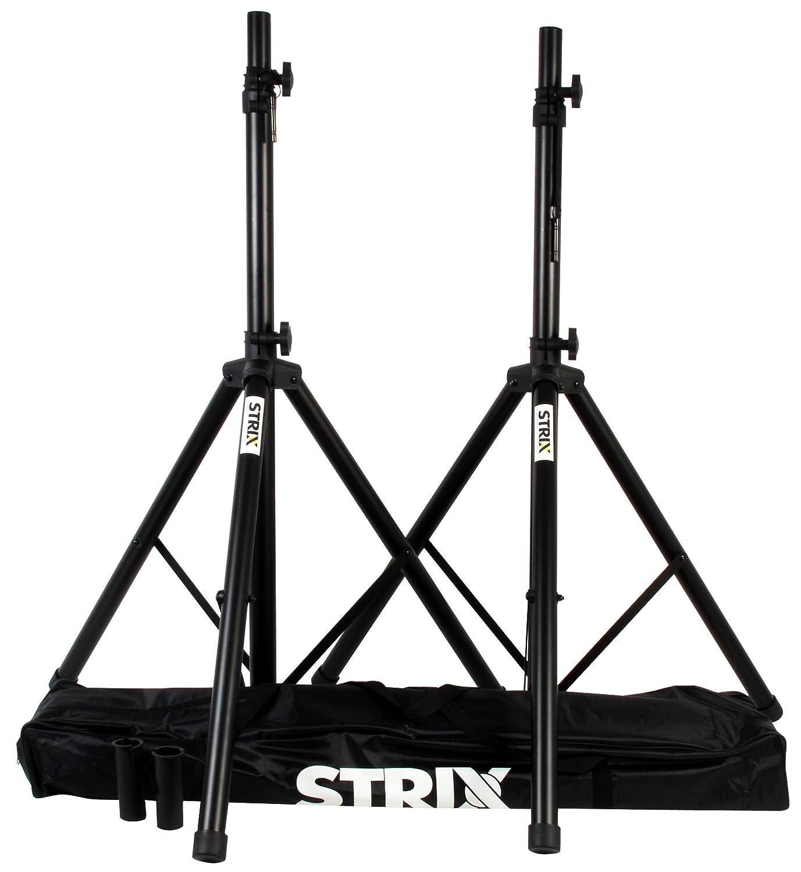 STRIX by QUIKLOK ss/100 coppia supporti aste treppiedi stativi per casse diffusori + borsa ss100
