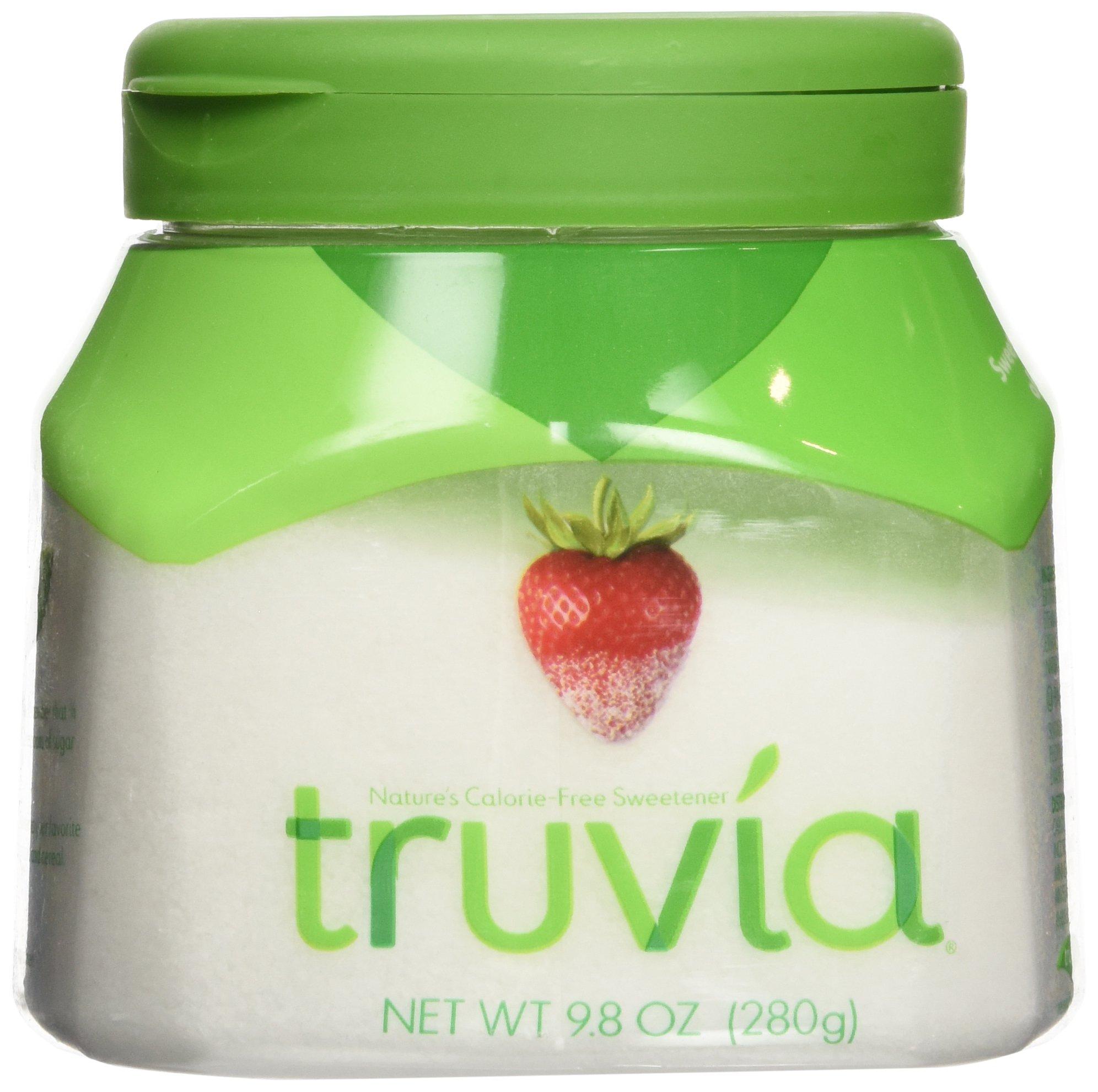 Truvia Calorie Free Sweetener, 9.8 oz jar (Pack of 4) by Truvia