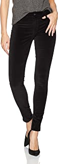 product image for James Jeans Women's Twiggy Skinny Velveteen Pant in Black