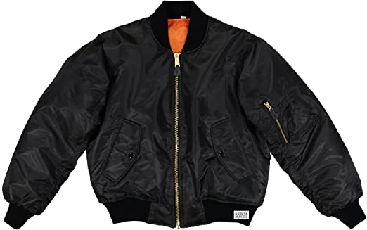 Amazon.com: MA-1 Bomber Flight Jacket Reversible Air Force ...