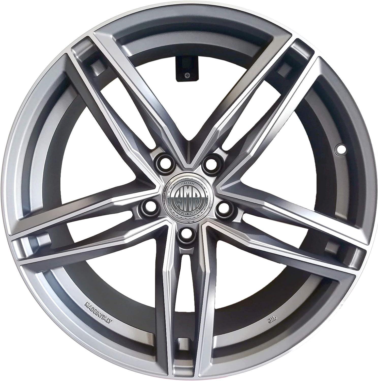 Light Mad 1 Llanta de aleaci/ón 8J 18 5X112 ET35 66,5 para Audi A4 A6 A5 A7 Q3 Q5 Volkswagen Passat modelo RS6 Italy