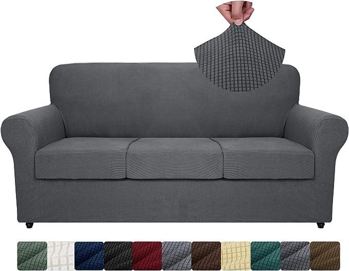 ZNSAYOTX 4-Piece Sofa Slipcovers