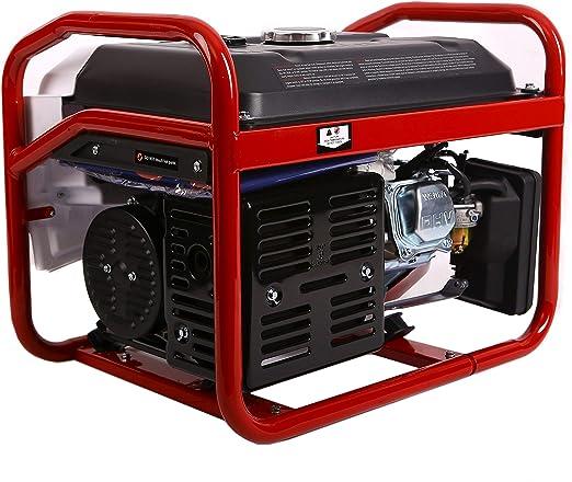 Weima WM2500B - Generador de gasolina (6,5 CV, AVR, 2500 W): Amazon.es: Bricolaje y herramientas