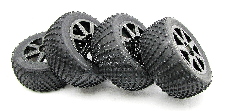 Trophy Truggy Tires Wheels 1 8 17mm Hex Tyres Hpi Traxxas Stampede Vxl Parts Diagram Achterkant 6708 Flux 107018 Toys Games