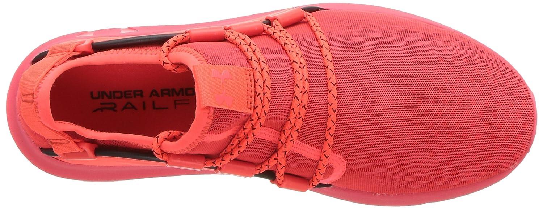 Under Armour Women's Railfit 1 Running Shoe B072LNKC13 5 M US Neon Coral (602)/Black