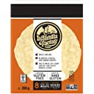La Tortilla Factory Gluten-Free Ancient Grain Ivory Teff Wraps, 8-Pack of Non-GMO Wraps (Wheat, Soy and Dairy Free), 288gm