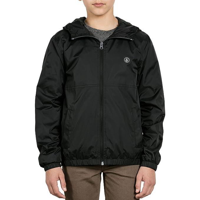 Amazon.com: Volcom Big Boys Ermont - Chaqueta con capucha ...