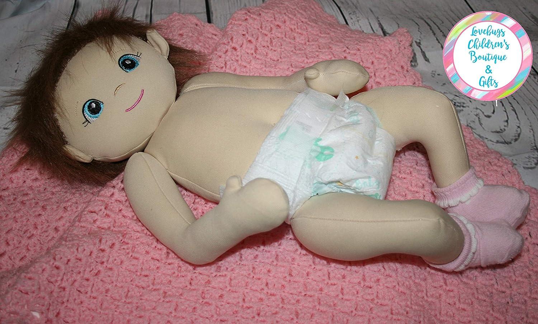 Handmade Butterfly Baby Doll Custom Doll