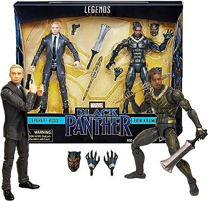 Marvel Legends Black Panther 2pack Everett Ross//erik Killmonger