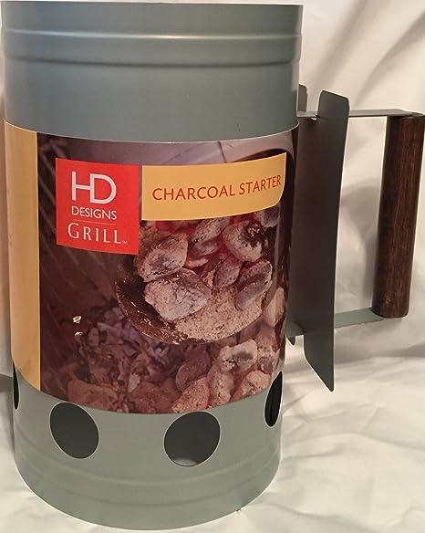 HD diseños parrilla carbón para barbacoa: Amazon.es: Jardín