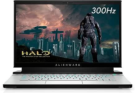 New Alienware m15 15.6 inch FHD Gaming Laptop (Lunar Light) Intel Core i7-10750H 10th Gen, 16GB DDR4 RAM, 1TB SSD, Nvidia Geforce RTX 2070 Super 8GB GDDR6, Windows 10 Home (AWm15-7418WHT-PUS)