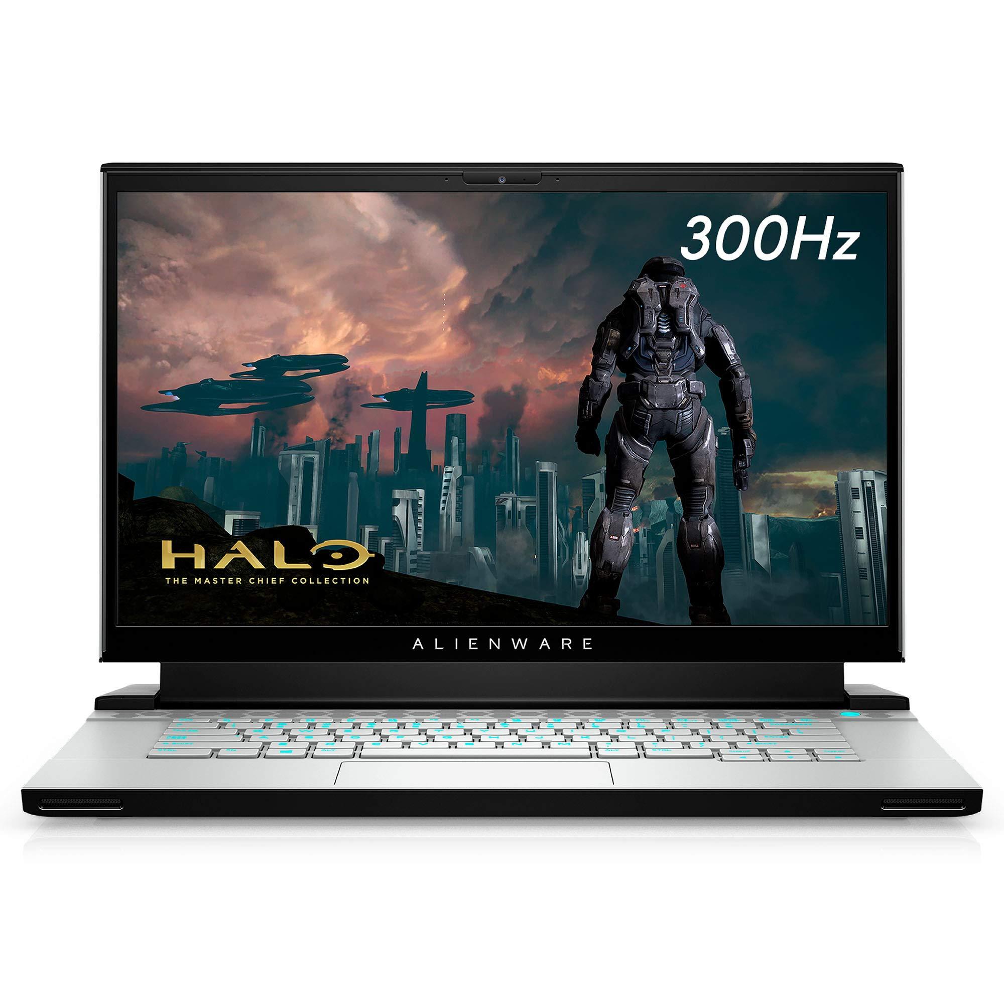 Nueva computadora portátil para juegos Alienware m15 FHD de 15.6 pulgadas (Lunar Light) Intel Core i7-10750H 10th Gen, 16GB DDR4 RAM, 1TB SSD, Nvidia Geforce RTX 2070 Super 8GB GDDR6, Windows 10 Home (AWm15-7418WHT-PUS)