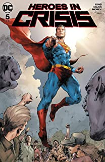 HEROES IN CRISIS #6 DC 2019 SOOK VARIANT COVER STOCK IMAGE