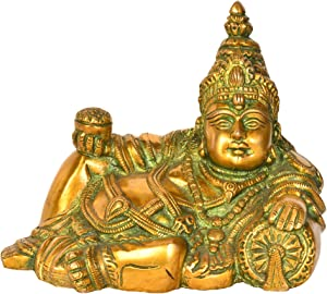 Exotic India God of Wealth Kubera Home Décor Statue