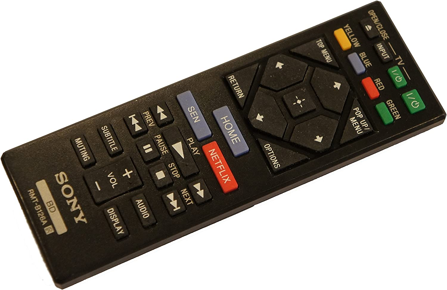 part for Sony OEM Sony 149267811 Remote Control Genuine Original Equipment Manufacturer