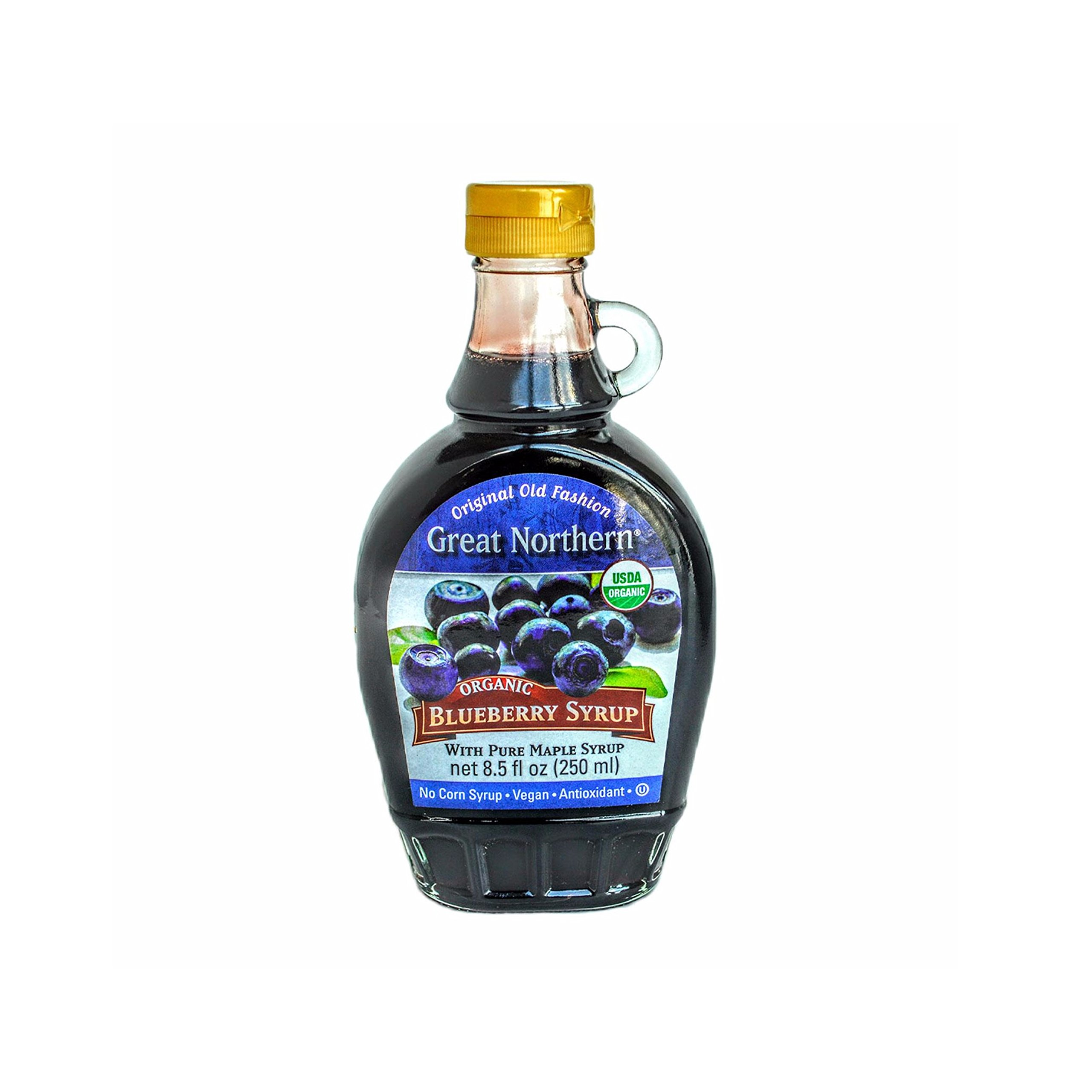 Great Northern Organic Blueberry Maple Syrup 8.5 oz.