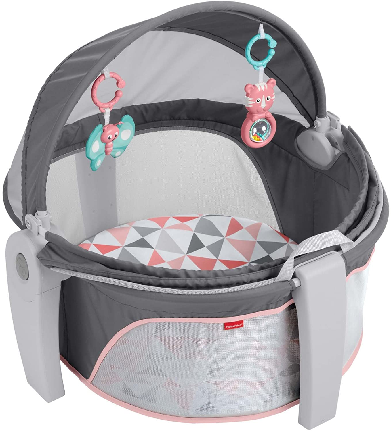 Fisher-Price On-The-Go Baby Dome, Rosy Windmill Fisher-Price Baby-FOB CNSZP FVC25