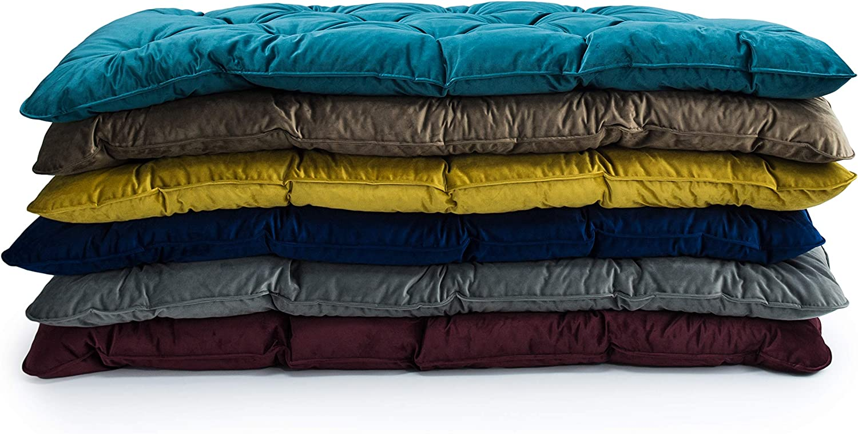 Marine, Double Loft 25 Fabric Foam Crumb Tufted Single /& Double Multiple Colour Velvet Futon Mattress