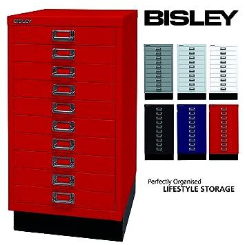 BISLEY Schubladenschrank 29 aus Metall | Schrank mit 10 Schubladen ...