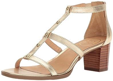 0d608b95b59 Jack Rogers Women s Julia Dress Sandal Platinum 5.5 ...