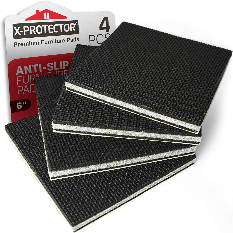 10Pcs Non-slip Rubber Feet Protector Pads Furniture Instrument Case Bumper n Bj