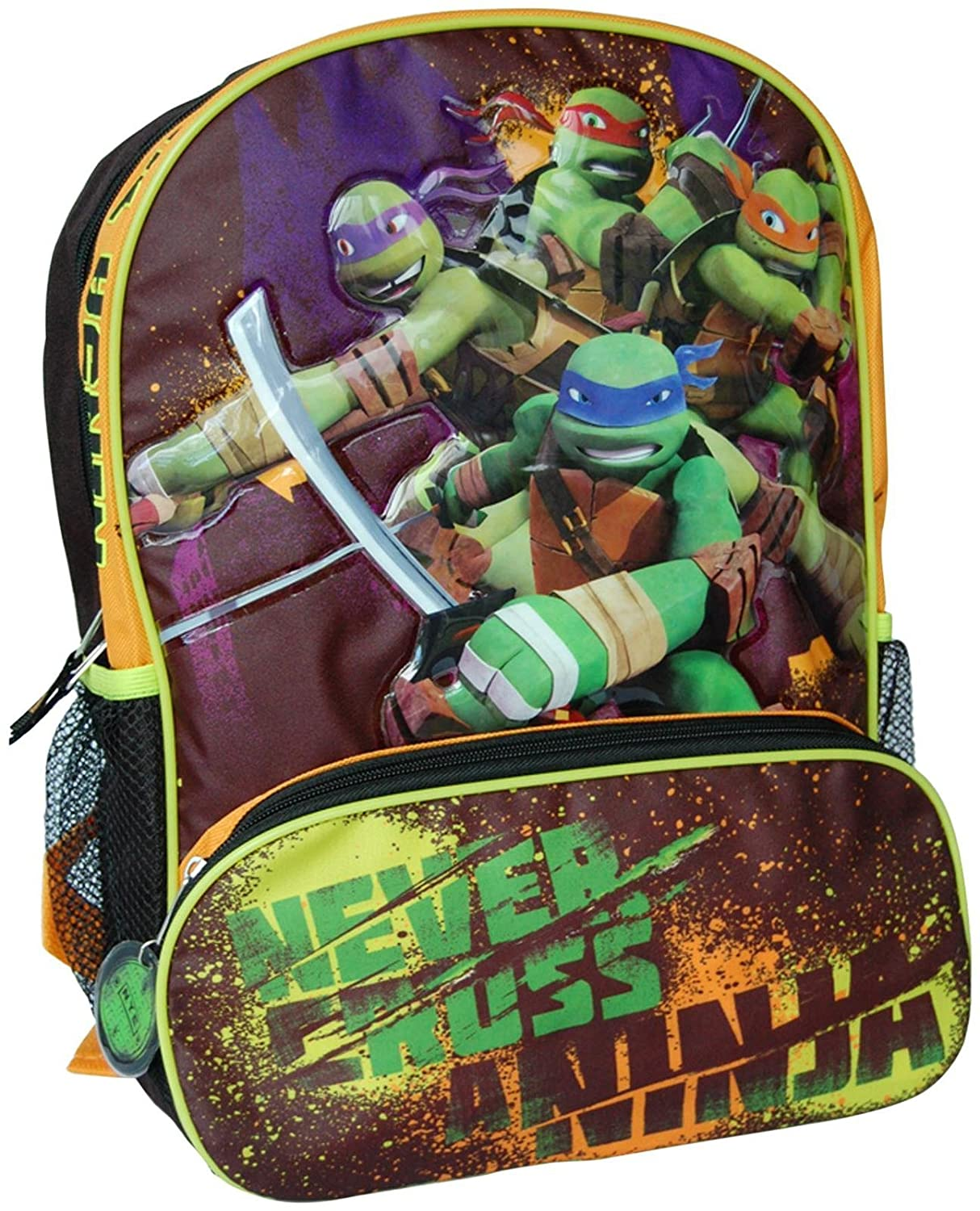 Long Tail Products TMNT Backpack Longtail Enterprises VGA-012